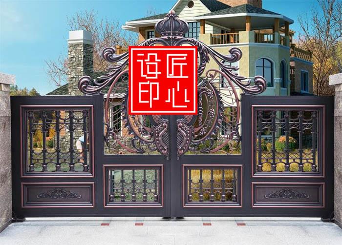 ZYDM05八字平开门